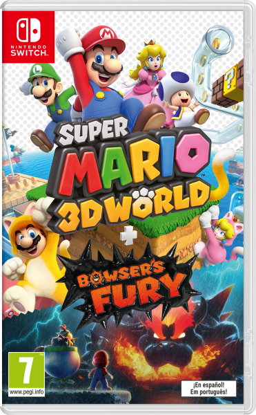 NINTENDO® 10006045 Super Mario 3D World + Bowsers Fury