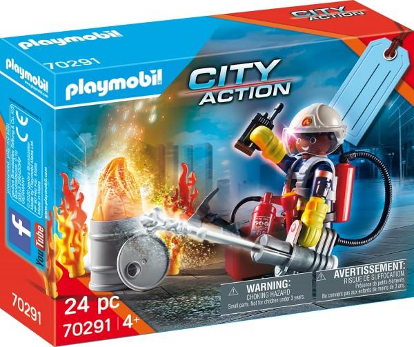 PLAYMOBIL® 70291 Geschenkset-Feuerwehr