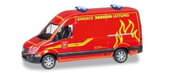 """HERPA 093491 Mercedes-Benz Sprinter Hochdach """"Feuerwehr Wilsdruff"""""""