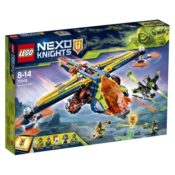 LEGO® NEXO KNIGHTS™ 72005 Aarons Armbrust, 569 Teile