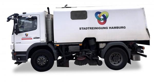 """HERPA 926751 Mercedes-Benz Atego `04 Kehrfahrzeug """"Stadtreinigung Hamburg 1"""""""