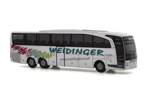 Rietze 69712 Mercedes-Benz Travego M E6 Weidinger Reisen (AT), 1:87
