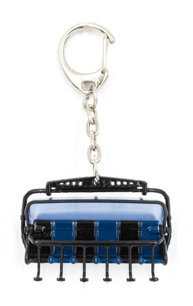 JC80645 6 er Sessel schwarz/blau Haube: blau