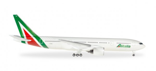 HERPA 530118 Alitalia Boeing 777-200 - new colors - I-DISU