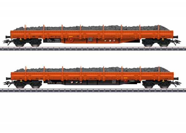 "Märklin 47099 Niederbordwagen-Set ""Schottertransport"""