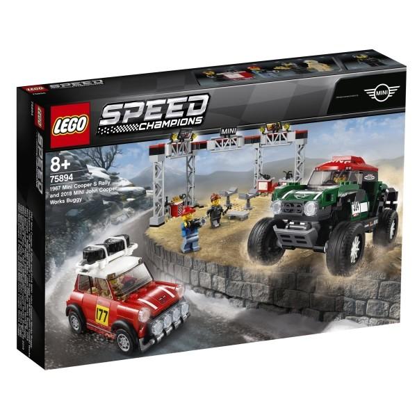 LEGO® Speed Champions 75894 Mini Cooper S & Buggy Mini JCW