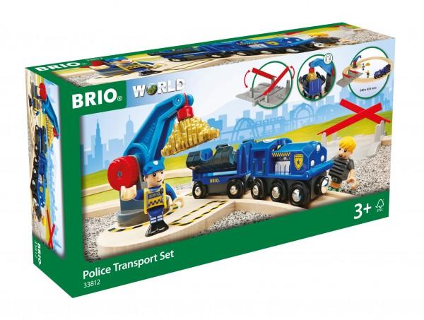 BRIO 33812 BRIO Polizei Goldtransport - Set