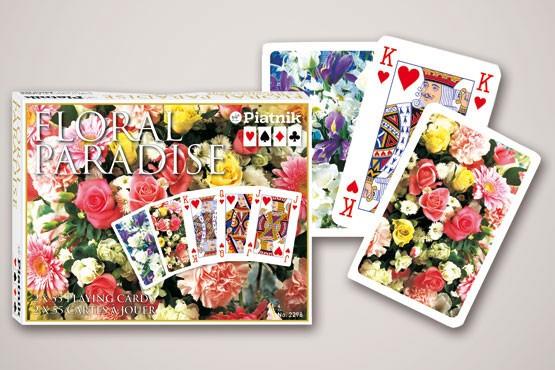 Piatnik 229831 Floral Paradise pink