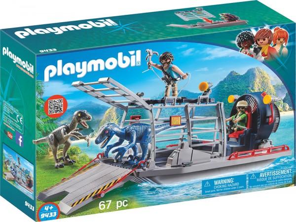 PLAYMOBIL® 9433 Propellerboot mit Dinokäfig