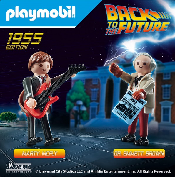 PLAYMOBIL® 70459 Back to the Future Marty Mcfly und Dr. Emmett Brown