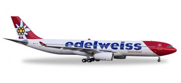 HERPA 558129 Edelweiss Air Airbus A330-300