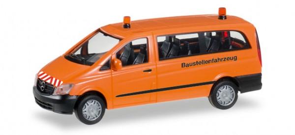 """HERPA 092555 Mercedes-Benz Vito Bus """"Baustellenfahrzeug"""""""
