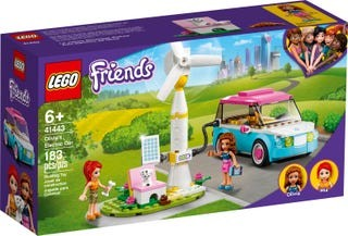 LEGO® Friends 41443 Olivias Elektroauto