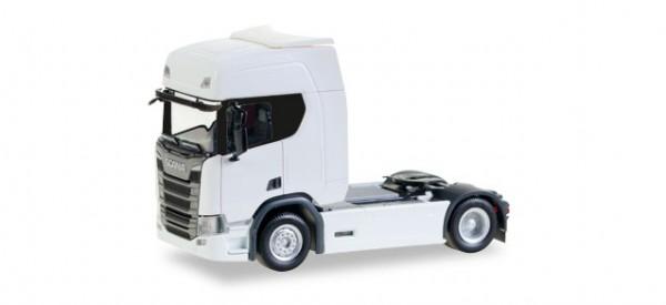 HERPA 307185 Scania CR20 HD Zugmaschine, weiß