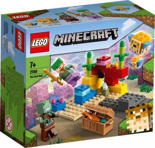 LEGO® Minecraft# 21164 Das Korallenriff
