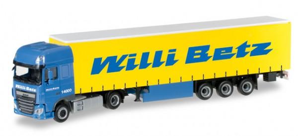 "HERPA 306560 DAF XF SSC Euro 6 Gardinenplanen-Sattelzug ""Willi Betz"""
