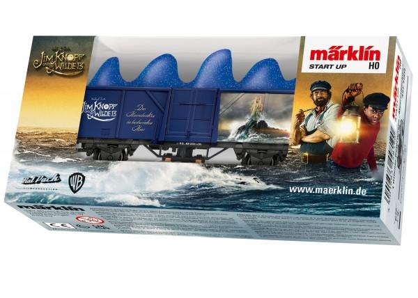 """Märklin 44819 Märklin Start up - Güterwagen """"Meeresleuchten"""" - Magnetische Kraft ist was Tolles!"""