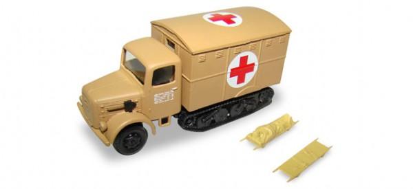 HERPA 745703 Magirus-Maultier Rotes Kreuz inklusive 2 Krankentragen