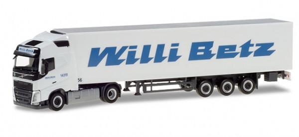 HERPA 309691 Volvo FH GL Kühlkoffer-Sattelzug - Willi Betz