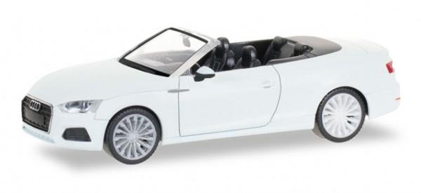 HERPA 028769 Audi A5 Cabrio, ibisweiß