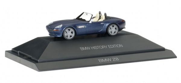 """HERPA 102063 BMW Z8 """"BMW History Edition"""""""
