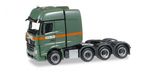 """HERPA 306584 Mercedes-Benz Actros SLT Zugmaschine """"Max Wild"""""""