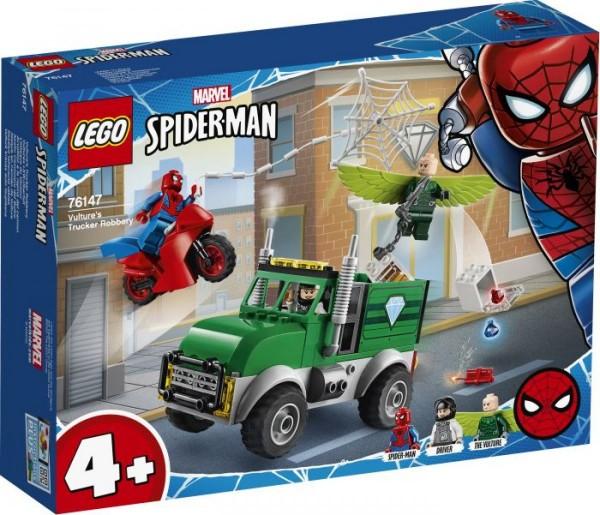 LEGO® Marvel Super Heroes# 76147 Spider-Men Vultures LKW-Überfall