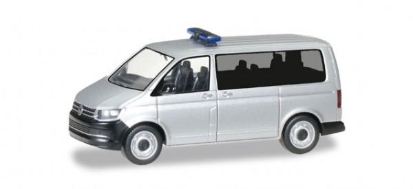 HERPA 012911 Minikit VW T6 Bus, silbermetallic