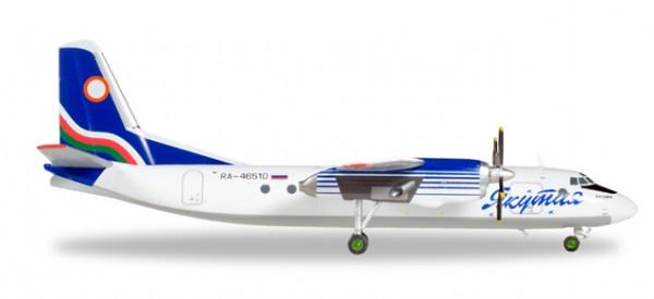 HERPA 558839 Yakutia Airlines Antonov AN-24RV - RA-46510