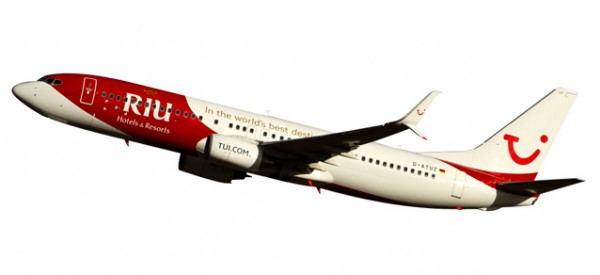 "HERPA 611268 TUIfly Boeing 737-800 ""RIU Hotels & Resorts"""