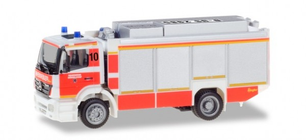 HERPA 094634 Mercedes-Benz Axor Rüstwagen RW2 Feuerwehr Düsseldorf