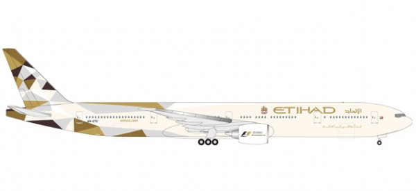 HERPA 531030 Etihad Airways Boeing 777-300ER - A6-ETC