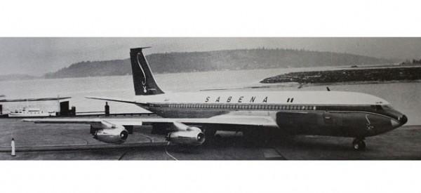 HERPA 558280 Sabena Boeing 707-320