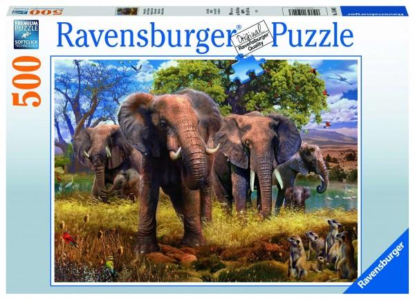 Ravensburger 15040 Elefantenfamilie