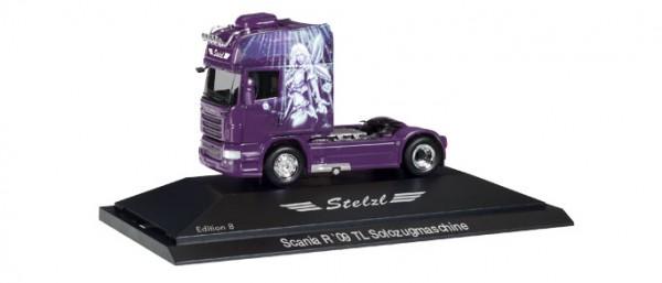 "HERPA 110921 Scania R TL Zugmaschine ""Stelzl, Edition 8"", PC"
