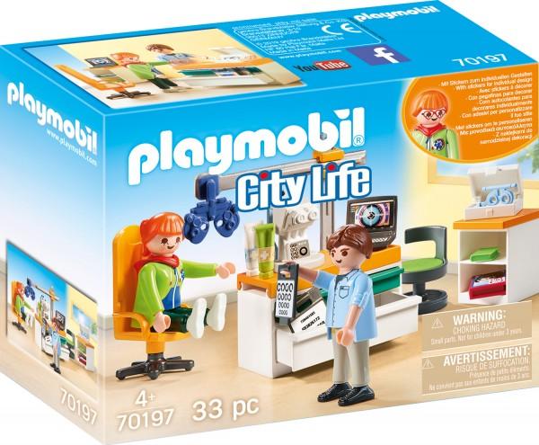 PLAYMOBIL® 70197 Beim Facharzt: Augenarzt