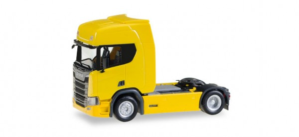HERPA 307116 Scania CR 20 HD Zugmaschine, gelb