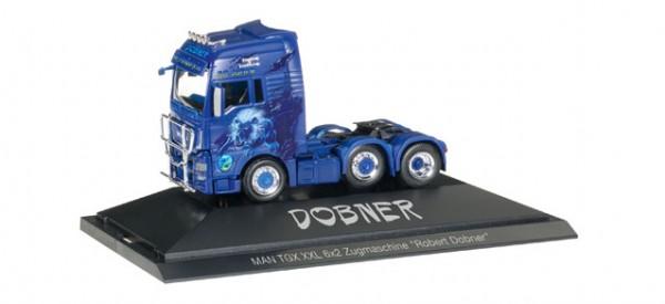 """HERPA 110853 MAN TGX XXL 6x2 Zugmaschine """"Robert Dobner"""""""