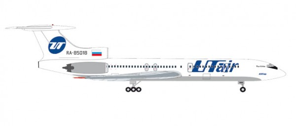 HERPA 531146 UTair Tupolev TU-154M - RA-85018