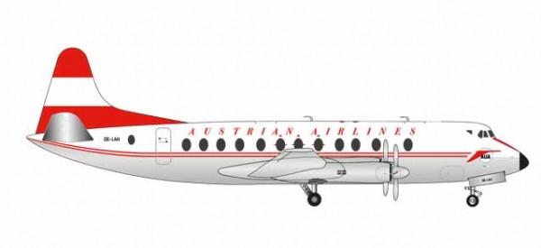 """HERPA 559065 Austrian Airlines Vickers Viscount 800 - OE-LAH """"Anton Bruckner"""""""