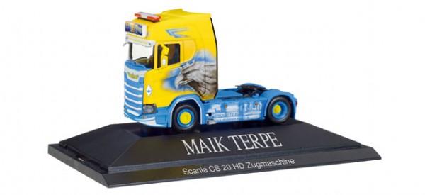 "HERPA 110914 Scania CS 20 HD Zugmaschine ""Maik Terpe"""