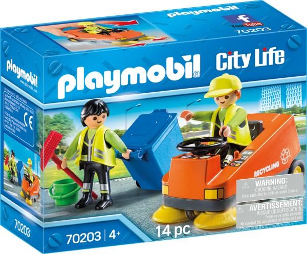 PLAYMOBIL® 70203 Kehrmaschine