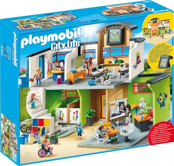 PLAYMOBIL® 9453 Große Schule mit Einrichtung