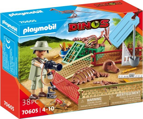 """PLAYMOBIL® 70605 Geschenkset """"Paläontologe"""""""