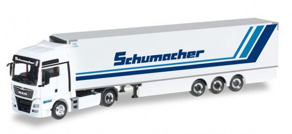 """HERPA 306263 MAN TGX XXL Euro6 Kühlkoffer-Sattelzug """"Spedition Schumacher"""""""