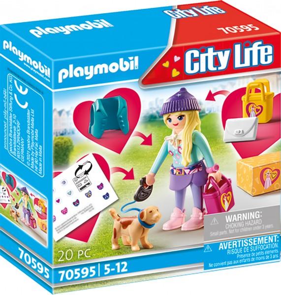 PLAYMOBIL® 70595 Fashion Girl mit Hund