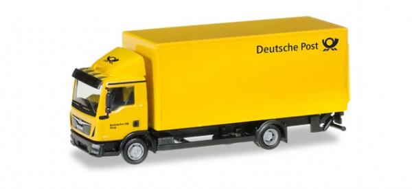 """HERPA 308212 MAN TGL Koffer-LKW mit Ladebordwand """"Deutsche Post"""""""
