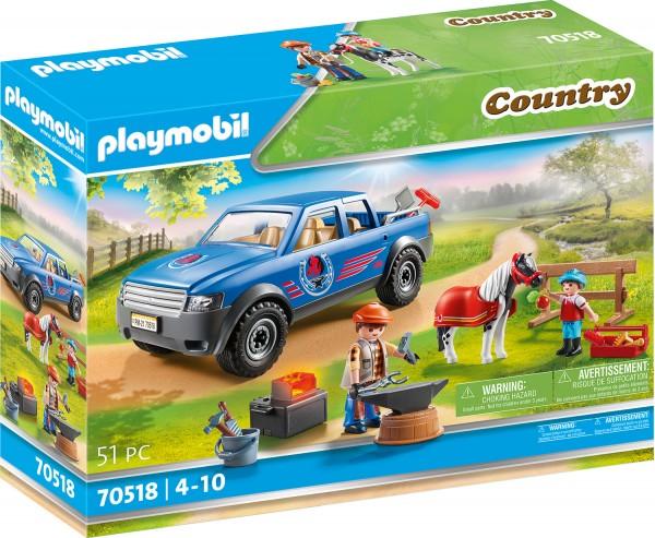 PLAYMOBIL® 70518 Mobiler Hufschmied