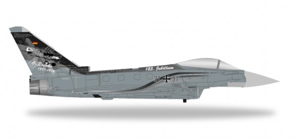 "HERPA 580199 Eurofighter Typhoon Luftwaffe TaktLwG 31 ""Spirit of Boelcke"""