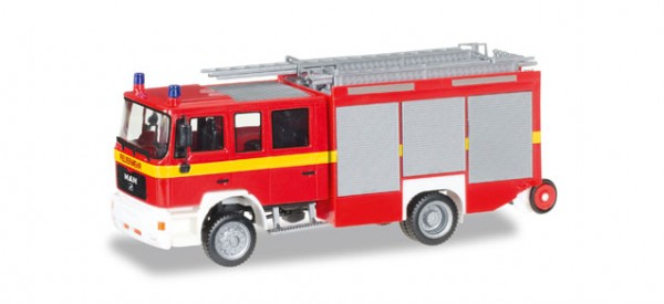 """HERPA 092906 MAN M 2000 Löschfahrzeug HLF 20 """"Feuerwehr"""""""